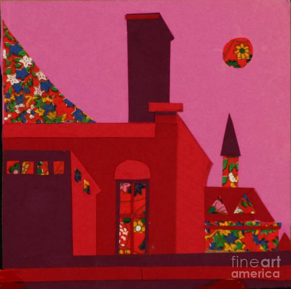 Opera House Art Print featuring the mixed media Opera House by Debra Bretton Robinson