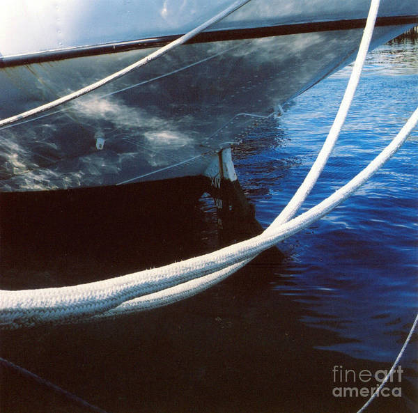 Peggy's Cove Art Print featuring the photograph Rigging by Andrea Simon