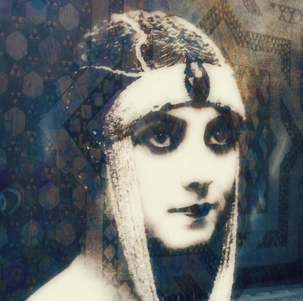 Theda Bara Art Print featuring the digital art The More I See You , The More I Want You by Paul Lovering