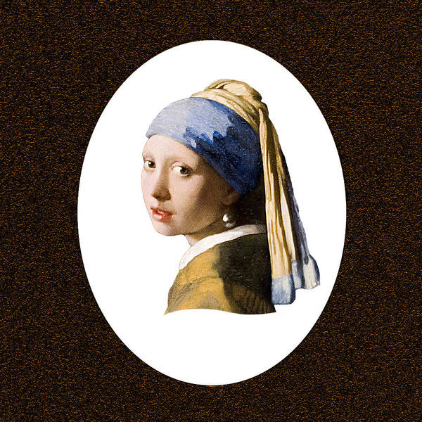 Vermeer Art Print featuring the photograph A Pearl Beyond Price by Peter Lloyd