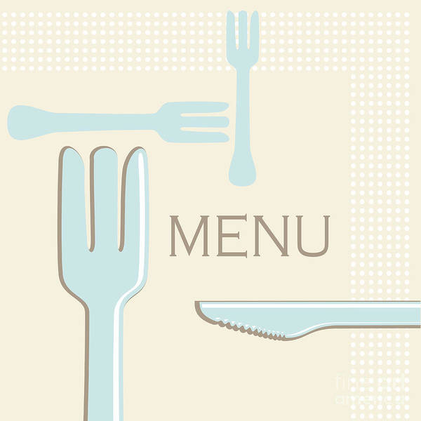 Abstract Art Print featuring the photograph Cutlery by Tim Hester