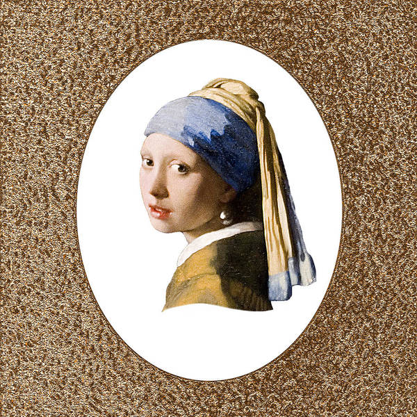 Vermeer Art Print featuring the photograph Beauty Adorned by Peter Lloyd