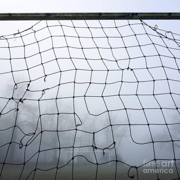 Abandoned Art Print featuring the photograph Goal by Bernard Jaubert
