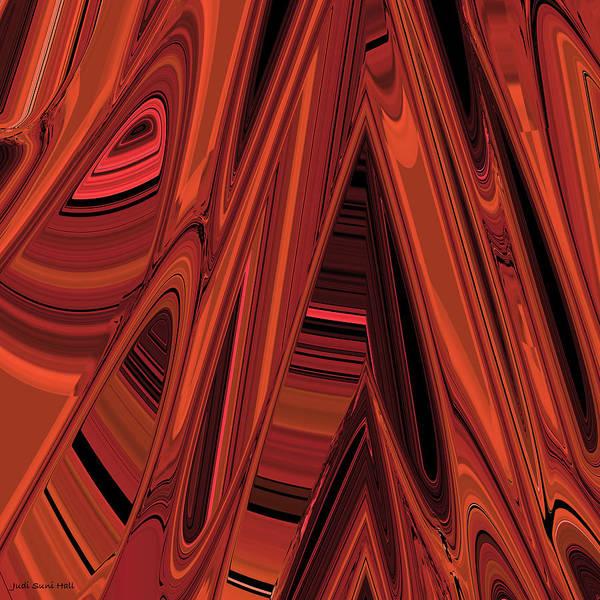 Arroyo Art Print featuring the digital art Arroyo 2 by Judi Suni Hall