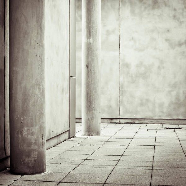 Architecture Art Print featuring the photograph Concrete Space by Tom Gowanlock