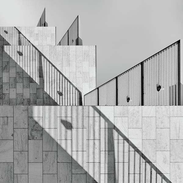 Architecture Art Print featuring the photograph Dealing With Shadows by Jeroen Van De