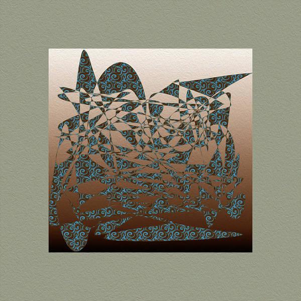 Delicate Stroke Art Print featuring the digital art Delicate Stroke by Mihaela Stancu