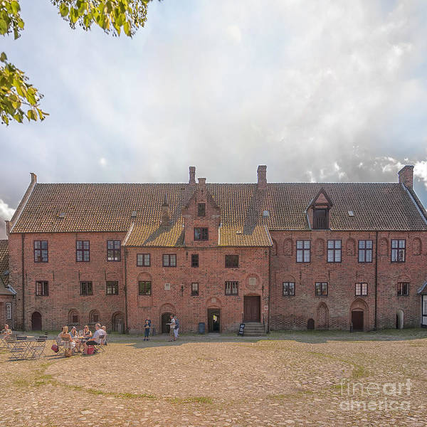 Kloster Art Print featuring the photograph Esrum Kloster by Antony McAulay