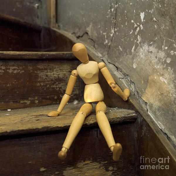 Indoors Art Print featuring the photograph Figurine by Bernard Jaubert