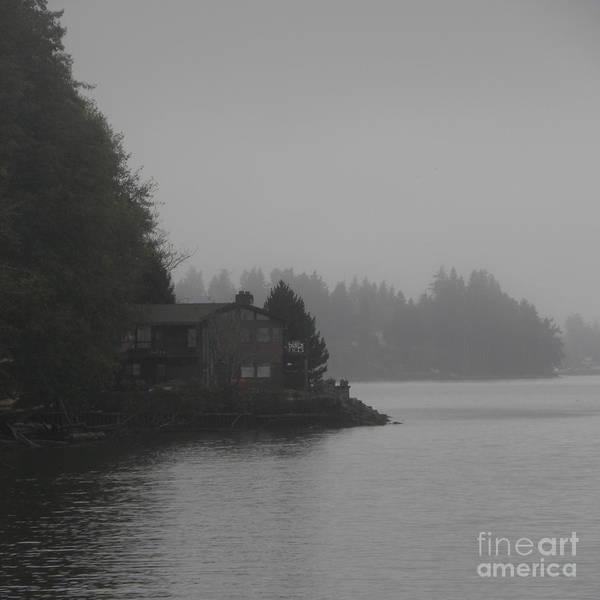 Fog Art Print featuring the photograph Foggy Morning by John Wilson
