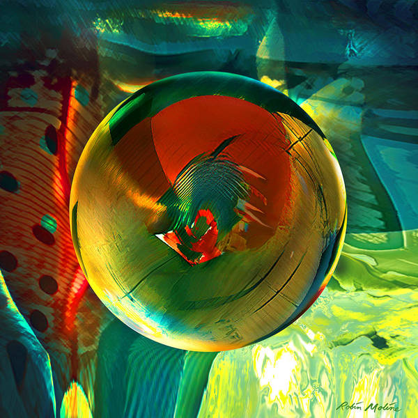 Art Globe Art Print featuring the painting Geronimo by Robin Moline