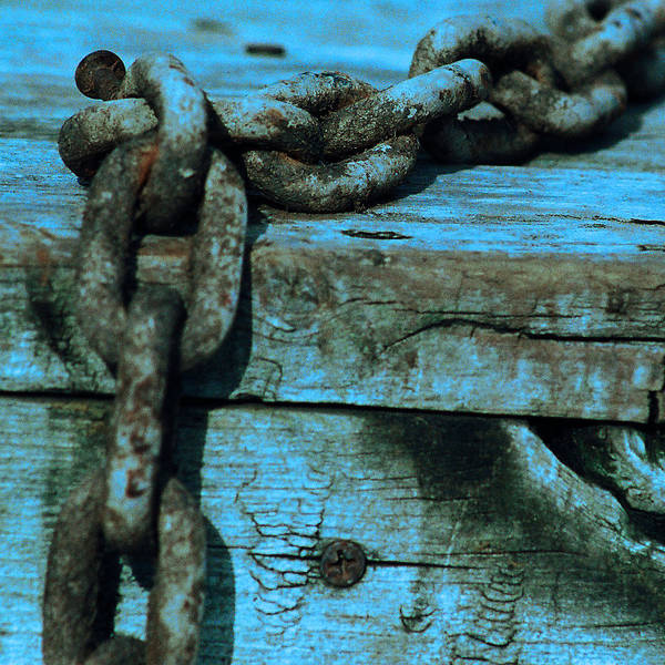 Chain Art Print featuring the photograph Good As New by Jacob Cane