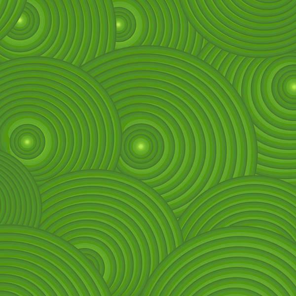 Frank Tschakert Art Print featuring the painting Green Abstract by Frank Tschakert