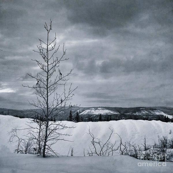 Klondike Print featuring the photograph Land Shapes 15 by Priska Wettstein