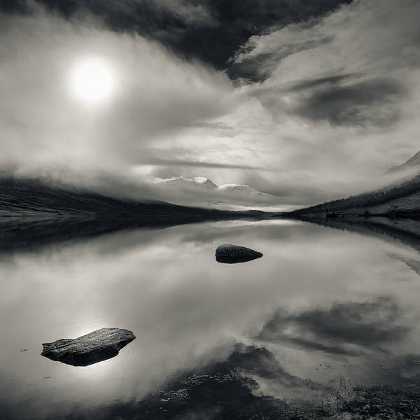 Loch Etive Print featuring the photograph Loch Etive by Dave Bowman