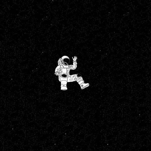 Lost Astronaut Art Print By Roberta Ferreira