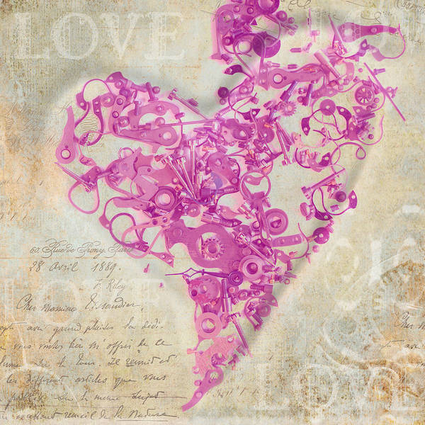 Love Art Print featuring the photograph Love Is A Gift by Fran Riley