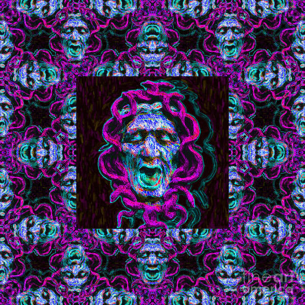 Medusa Print featuring the photograph Medusa's Window 20130131m180 by Wingsdomain Art and Photography