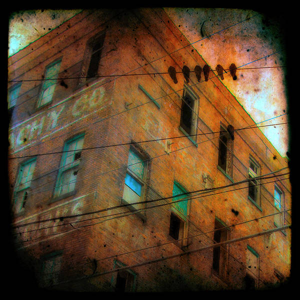 Abandoned Art Print featuring the photograph Old Wires by Gothicrow Images