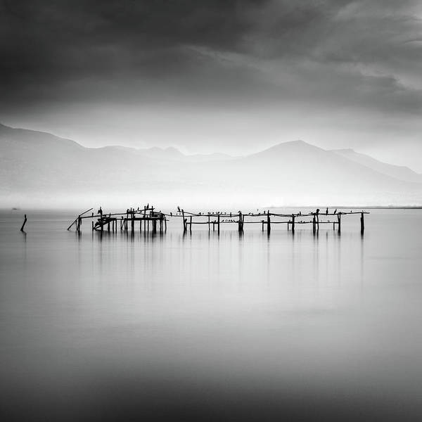 Birds Art Print featuring the photograph Ruins With Birds II by George Digalakis