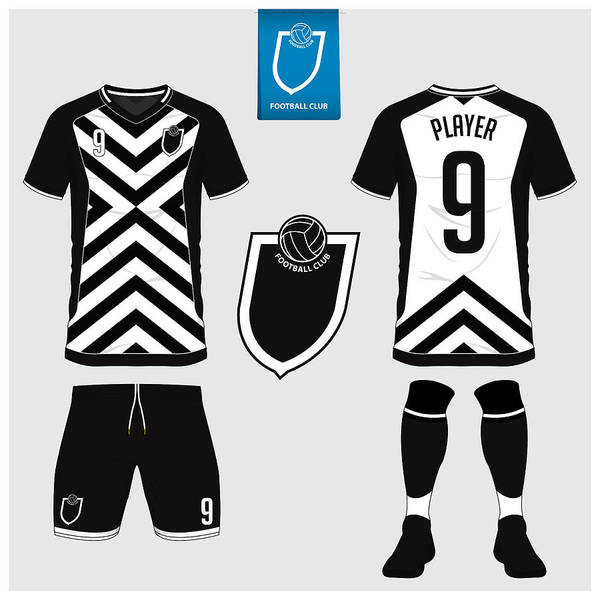 bf18a7fdcad7 Soccer Uniform Art Print featuring the drawing Soccer Jersey