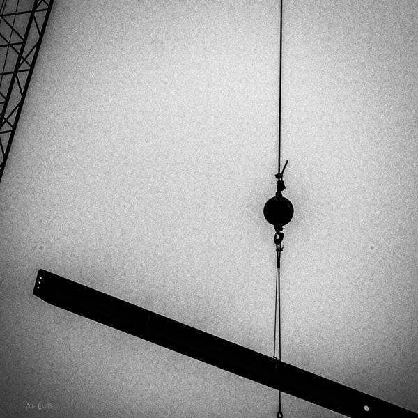 Abstract Art Print featuring the photograph Suspended by Bob Orsillo