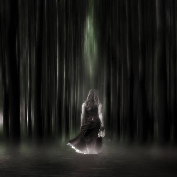 Woman Art Print featuring the photograph The Forest by Joana Kruse