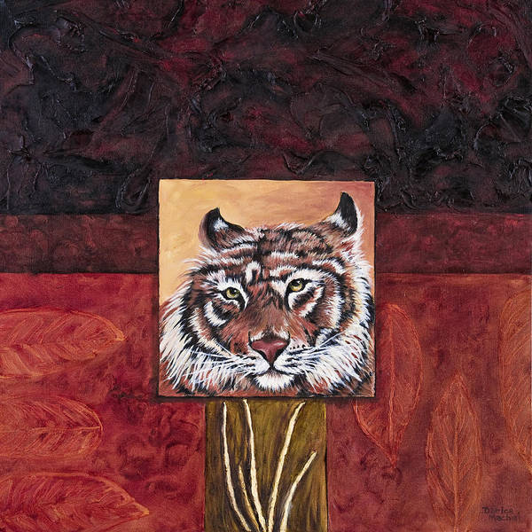 Animal Art Print featuring the painting Tiger 2 by Darice Machel McGuire