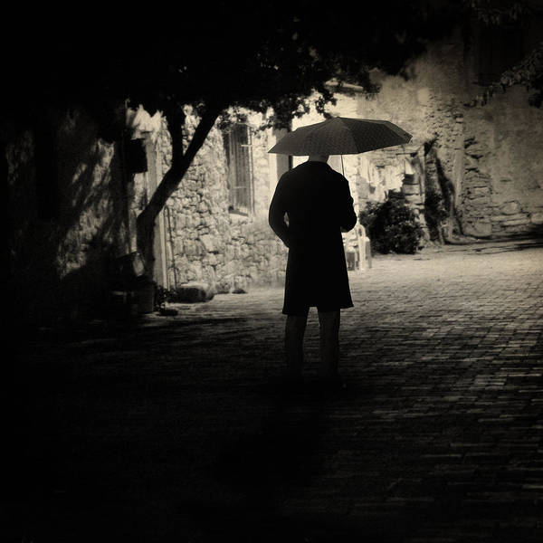 Rain Art Print featuring the photograph Tomorrow by Taylan Apukovska