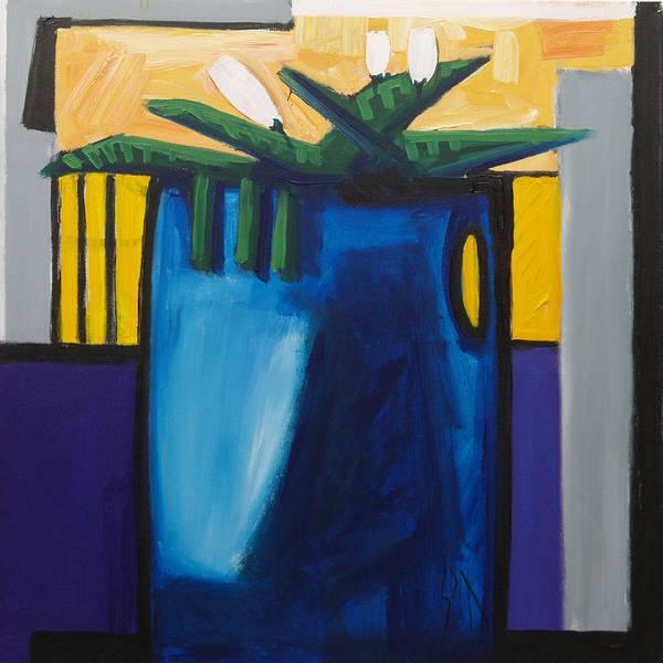 Spn Art Print featuring the painting Tulipani T4 by Saso Petrosevski Novak - SPN