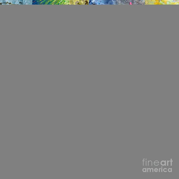 Waves Art Print featuring the digital art Underworld by Ramneek Narang