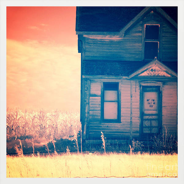 House Art Print featuring the photograph Abandoned House by Jill Battaglia