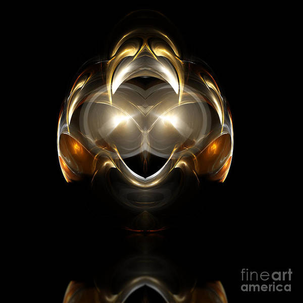 Fractal Digital Art Art Print featuring the photograph Abstract 111 by Mike Nellums
