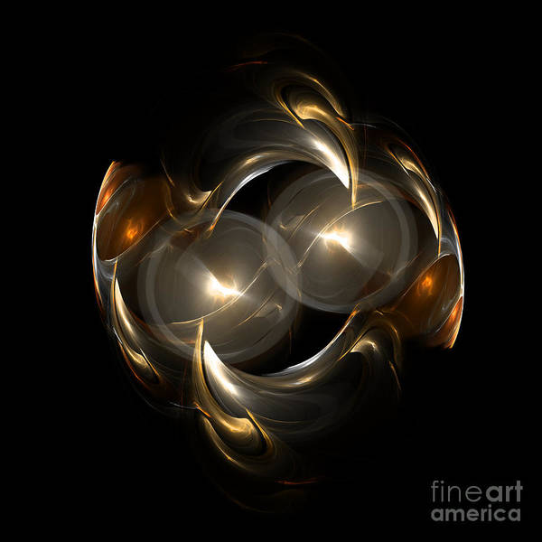 Fractal Digital Art Art Print featuring the photograph Abstract 113 by Mike Nellums