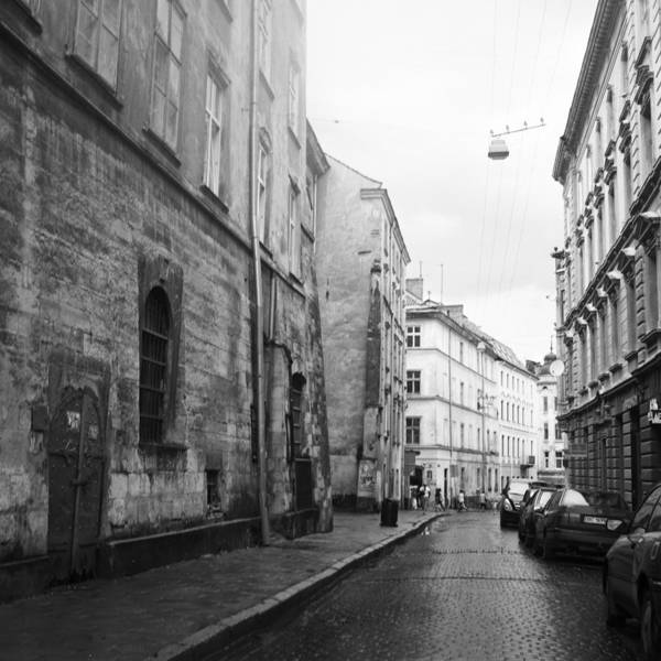 Street Art Print featuring the photograph Lviv by George Nazirov