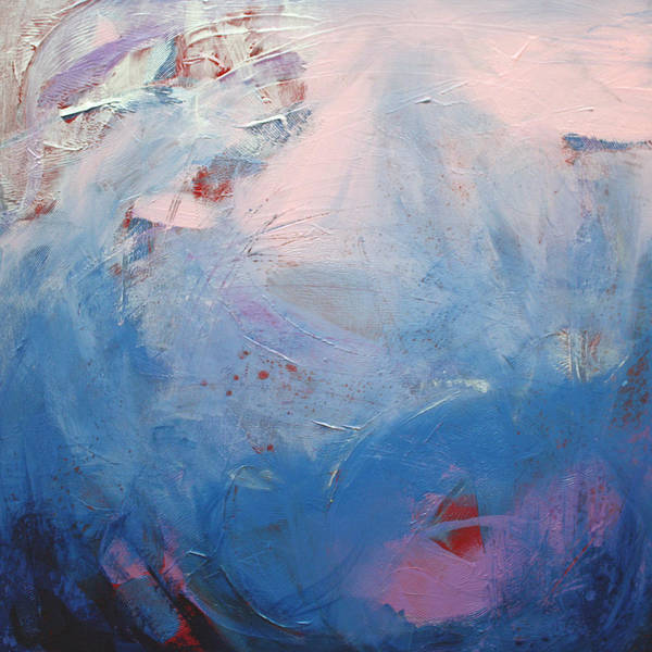 Abstract Art Print featuring the painting A Nearness To Tremendousness by Gray Jacobik