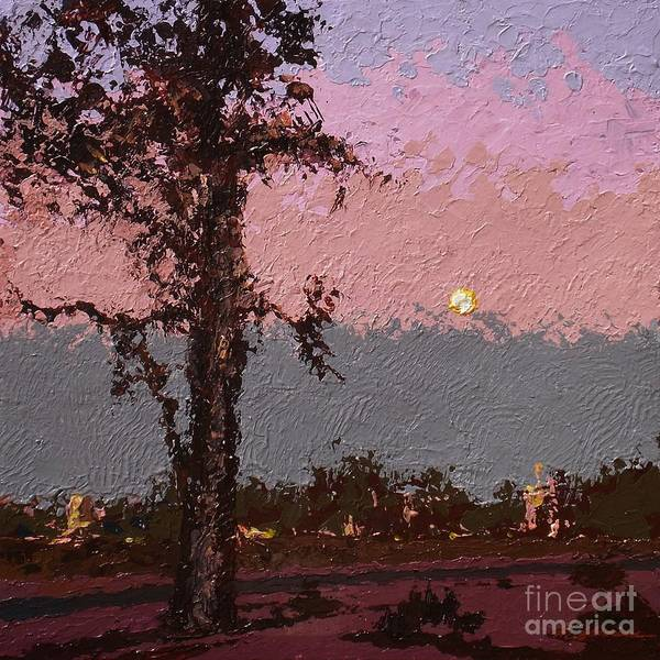 Landscape Art Print featuring the painting Back Bay Dawn V.2 by Max Yamada