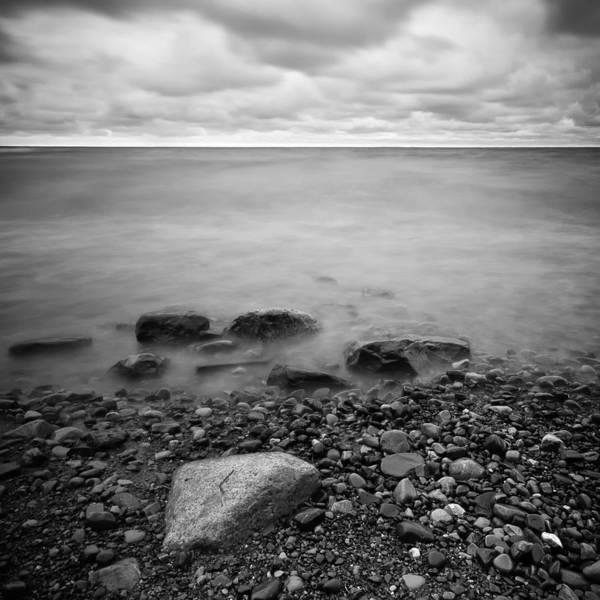 Darren Creighton Art Print featuring the photograph Bluffs Beach Wind 2 by Darren Creighton