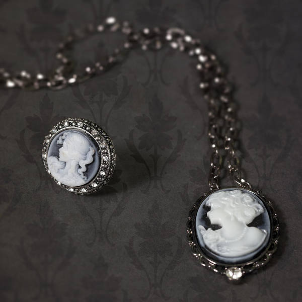 Brooch Art Print featuring the photograph Brooch And Necklace by Joana Kruse