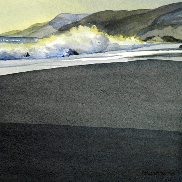 Andre Salvador Painting Art Print featuring the painting California Coast One by Andre Salvador