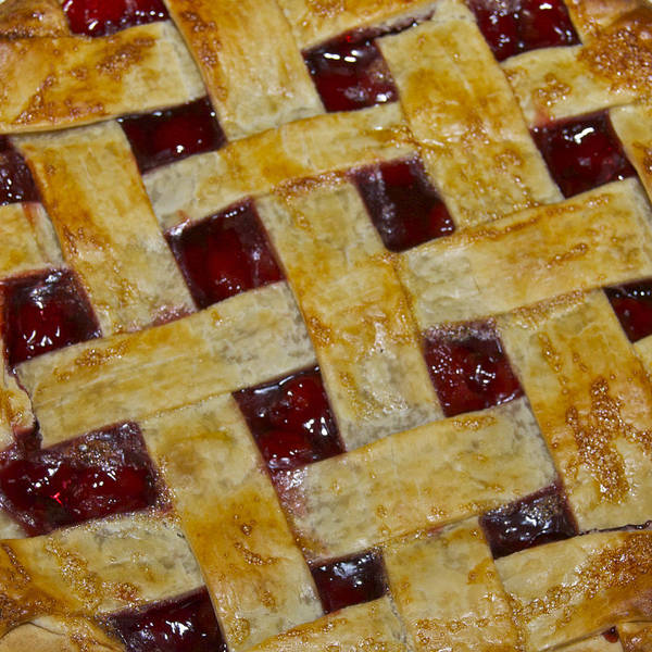 American Art Print featuring the photograph Cherry Pie 3782 by Michael Peychich