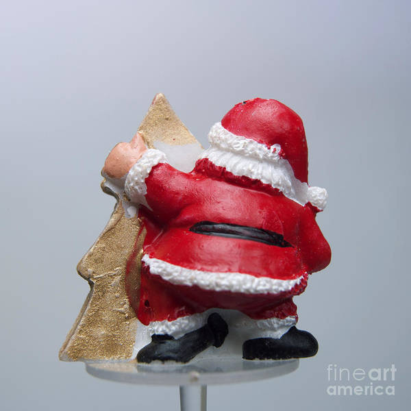 Mas Art Print featuring the photograph Christmas Decoration by Bernard Jaubert