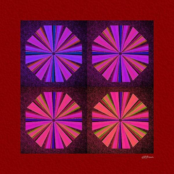 Colors Art Print featuring the digital art Colors Of The Windmill by Greg Reed Brown