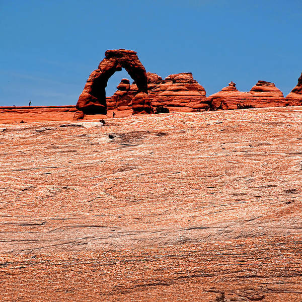 Delicate Arch Art Print featuring the photograph Delicate Arch by Andre Salvador