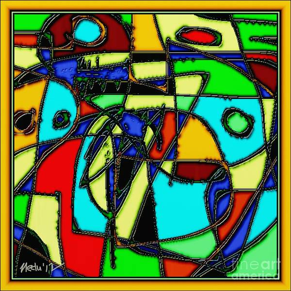 Paintings Art Print featuring the painting Digital Design 346 by Nedunseralathan R