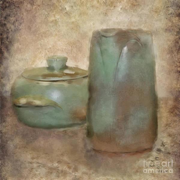 Frankhoma Pottery Art Print featuring the photograph Frankhoma Pottery by Betty LaRue