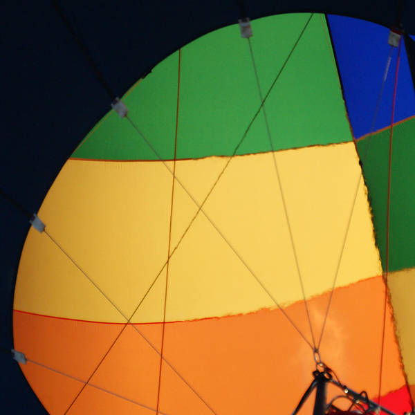 Balloons Art Print featuring the photograph Hot Air Balloon Rigging by Ernie Echols