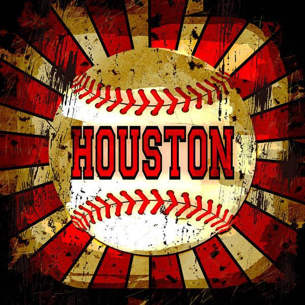 Houston Art Print featuring the photograph Houston by David G Paul