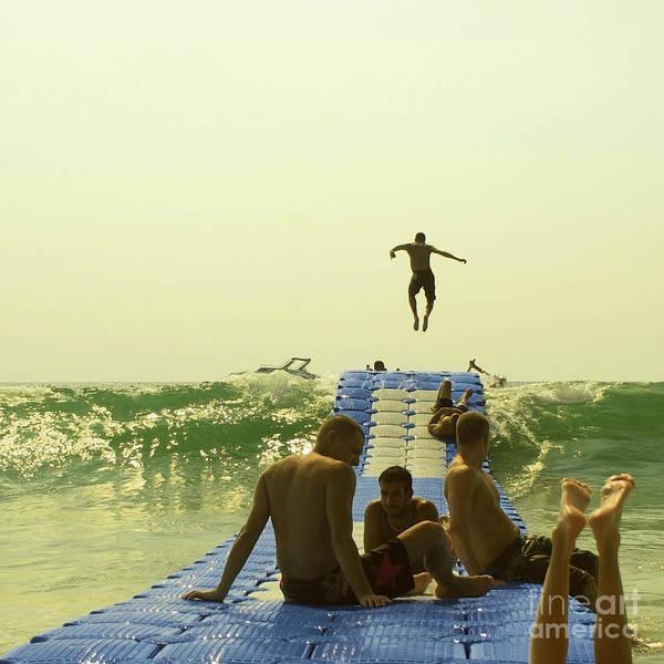 Jump Art Print featuring the photograph Jump by Paul Grand