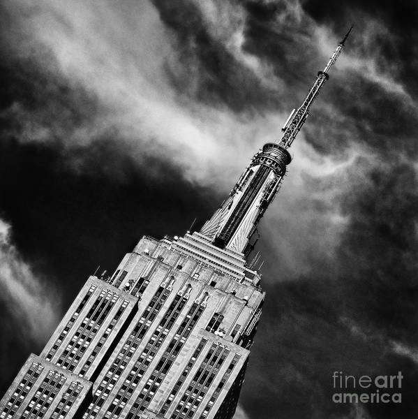 Crazy Nyc Art Print featuring the photograph Like A Rocket Ship Heading To The Moon by John Farnan